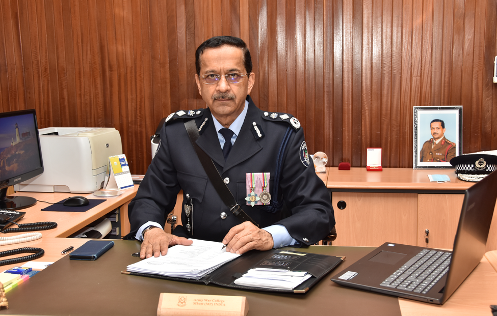 Message of Commissioner of Police